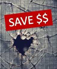 archer glass save $$